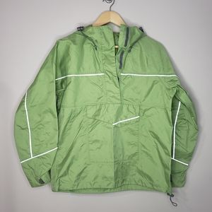 Mec Small Green Women's Windbreaker Jacket